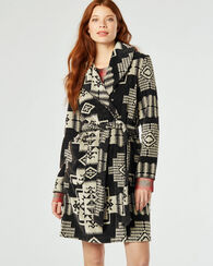 JACQUARD TERRY ROBE