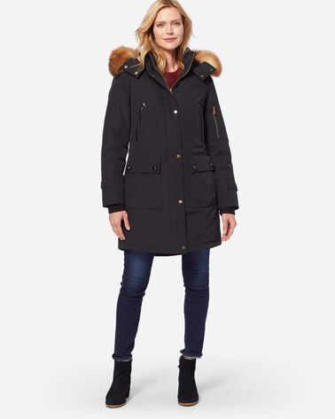PENDLETON SIGNATURE JACKSON PARKA, BLACK, large