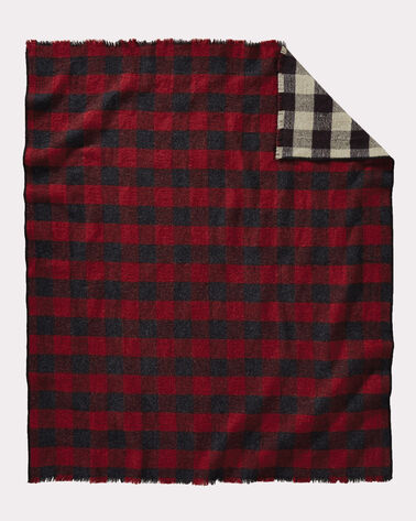 ADDITIONAL VIEW OF ROB ROY REVERSIBLE DOUBLE WEAVE THROW IN ROB ROY TARTAN