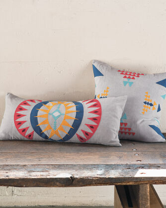 ADDITIONAL VIEW OF POINT REYES HUG PILLOW IN GREY MULTI