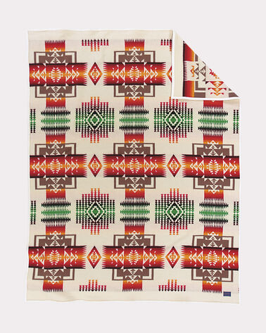 CHIEF JOSEPH BLANKET, IVORY, large
