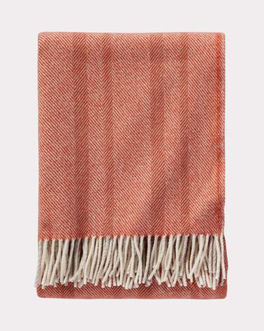 ECO-WISE WOOL HERRINGBONE THROW
