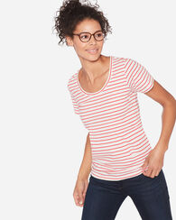 SHORT-SLEEVE PIMA STRIPE TEE