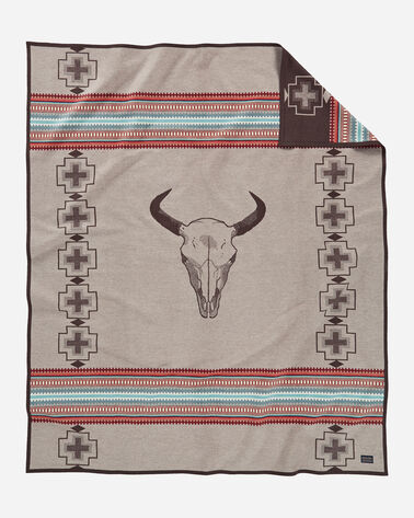 AMERICAN WEST BLANKET, TAN, large