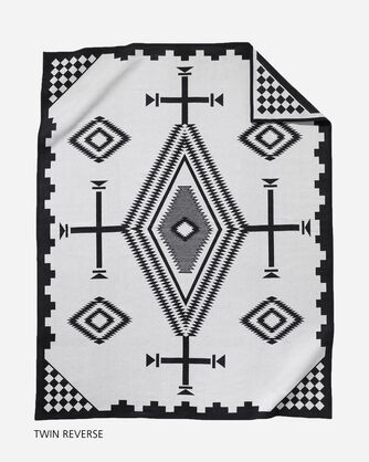 LOS OJOS BLANKET TWIN SIZE BACK VIEW