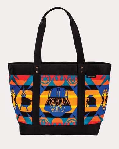 STAR WARS 40TH ANNIVERSARY TOTE, MULTI, large
