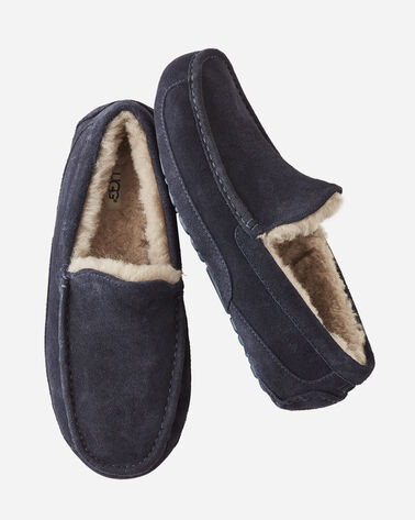 ASCOT SLIPPERS, TRUE NAVY, large