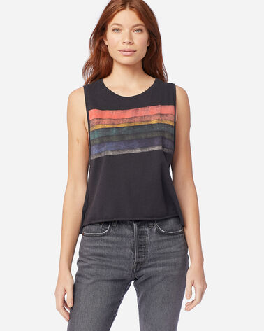 HURLEY X PENDLETON WOMEN'S BIKER TANK IN SPIDER ROCK