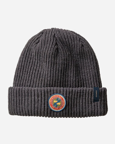 ADDITIONAL VIEW OF REVERSIBLE NATIONAL PARK STRIPE BEANIE IN OLYMPIC STRIPE