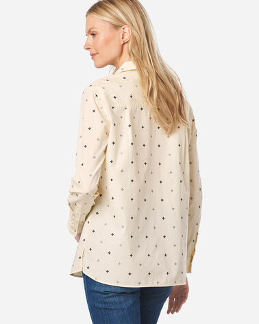 ADDITIONAL VIEW OF WOMEN'S MERIDIAN COTTON SHIRT IN SANDSHELL