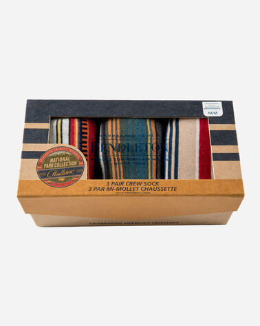 3-PACK NATIONAL PARK SOCKS GIFT BOX, ACADIA/OLYMPIC/YOSEMITE, large