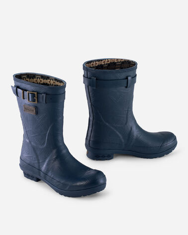 HERITAGE EMBOSSED SHORT BOOTS