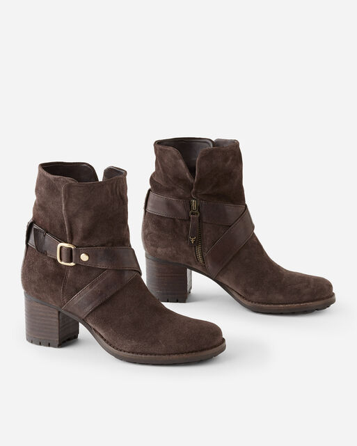 MISTY HARNESS BOOTS, DARK BROWN, large