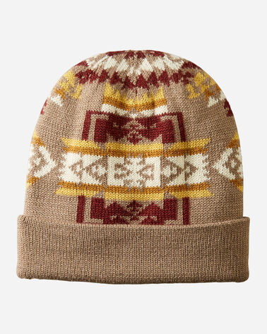 KNIT BEANIE IN CHIEF JOSEPH KHAKI
