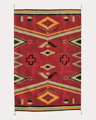 WALK IN BEAUTY RUG, RED, large
