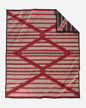 PRESERVATION SERIES: PS03 BLANKET IN RED MULTI
