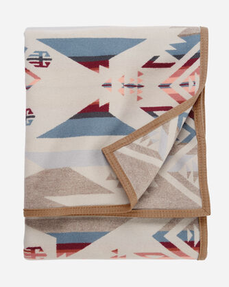 ADDITIONAL VIEW OF WHITE SANDS BLANKET IN TAN