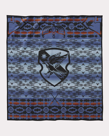 HARRY POTTER RAVENCLAW BLANKET, BLUE, large