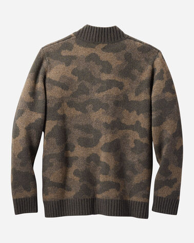 ALTERNATE VIEW OF MEN'S CAMO LAMBSWOOL CARDIGAN IN CAMO