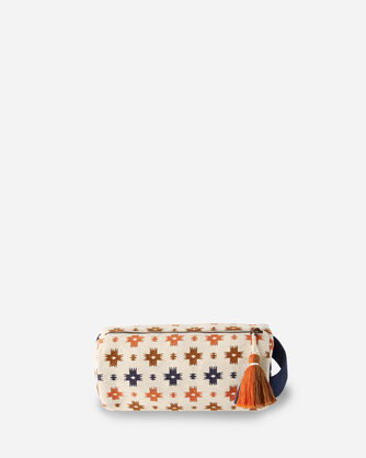 ALTERNATE VIEW OF SWEET WATER COTTON COSMETIC BAG IN MULTI