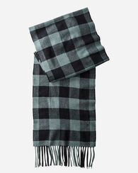 WHISPERWOOL MUFFLER, BUFFALO CHECK, large