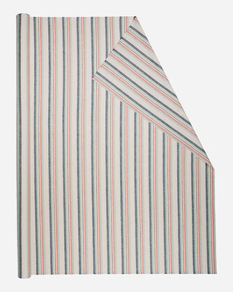 STRIPE FABRIC IN TAN MULTI