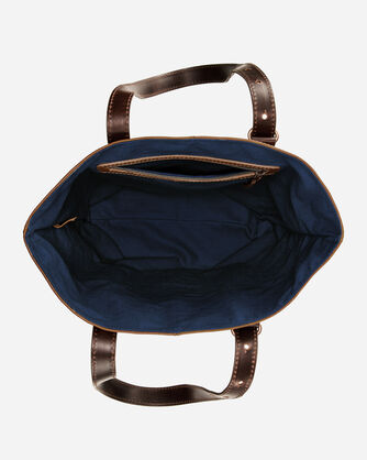 ADDITIONAL VIEW OF WYETH TRAIL OPEN TOTE IN IVORY