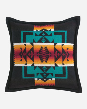 CHIEF JOSEPH PILLOW IN BLACK