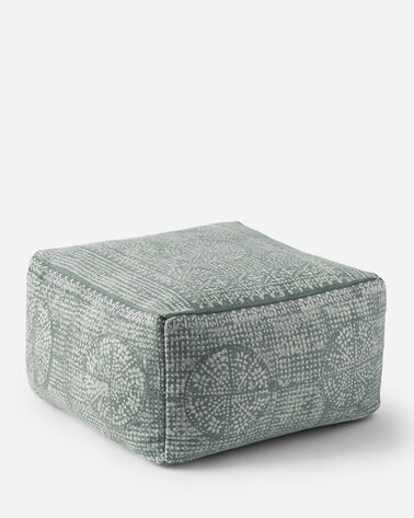 MERIDIAN POUF IN GREY