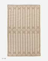 COTTON WOVEN DHURRIE RUG IN HARDING