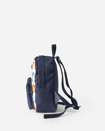 ALTERNATE VIEW OF FALCON COVE CANOPY CANVAS MINI BACKPACK IN OLIVE GREEN