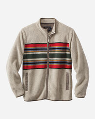 CAMP STRIPE ZIP-FRONT