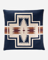 HARDING SQUARE PILLOW IN NAVY MULTI