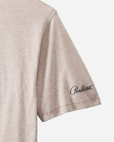 ADDITIONAL VIEW OF BADLANDS NATIONAL PARK TEE IN TAUPE BADLANDS