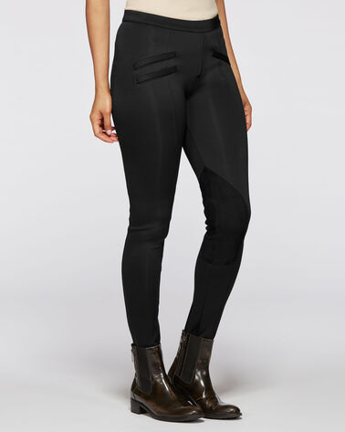 EQUESTRIAN PANTS, BLACK, large
