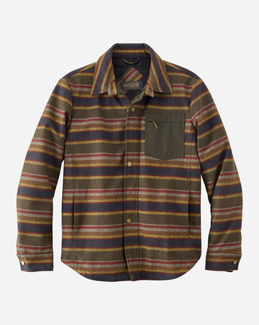 MEN'S CONWAY ACCENT POCKET JACKET IN BADLANDS STRIPE