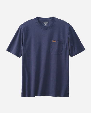 DESCHUTES POCKET TEE, NAVY, large