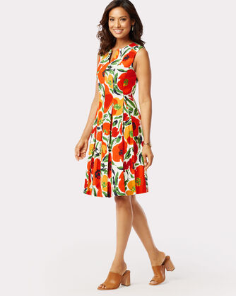 WHITNEY POPPY DRESS