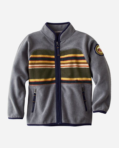 KIDS' BADLANDS FLEECE JACKET