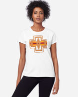 WOMEN'S HARDING GRAPHIC TEE IN WHITE