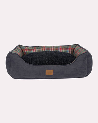 X-LARGE PLAID KUDDLER DOG BED