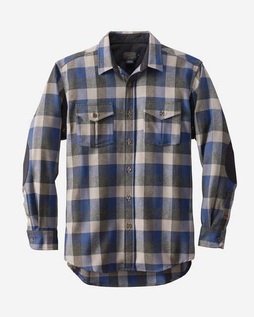 MOONRISE OUTDOOR SHIRT, BLUE/GREY CHECK, large