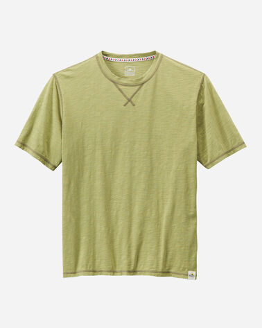 MEN'S OTTER ROCK TEE, SEAGRASS GREEN, large