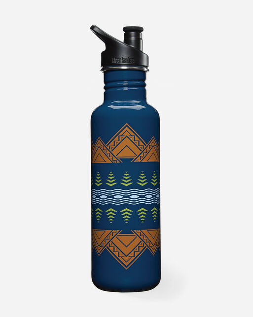 AMERICAN TREASURES WATER BOTTLE, MIDNIGHT, large