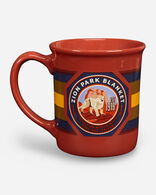 NATIONAL PARK COFFEE MUG IN ZION RED