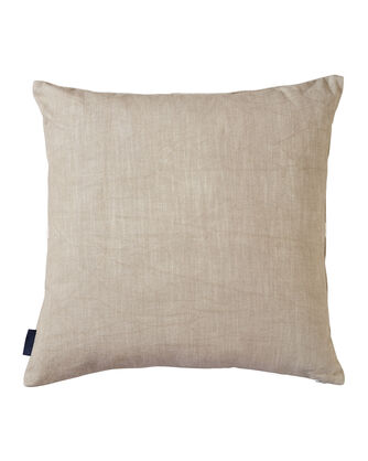 ALTERNATE VIEW OF JUNIPER MESA EMBROIDERED SQUARE PILLOW IN TAN MULTI