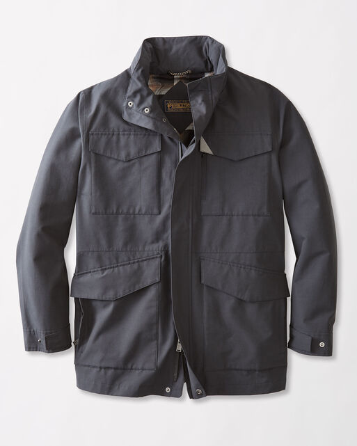 PENDLETON SIGNATURE CLYDE HILL COAT, SLATE, large