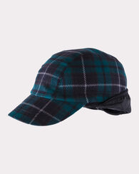 LAKESIDE PLAID HAT, DARK FOREST PLAID, large