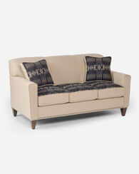 THOMAS KAY SOFA, HARDING BLACK/BUCKSKIN, large