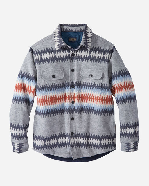 MEN'S THUNDER CREEK QUILTED SHIRT JACKET